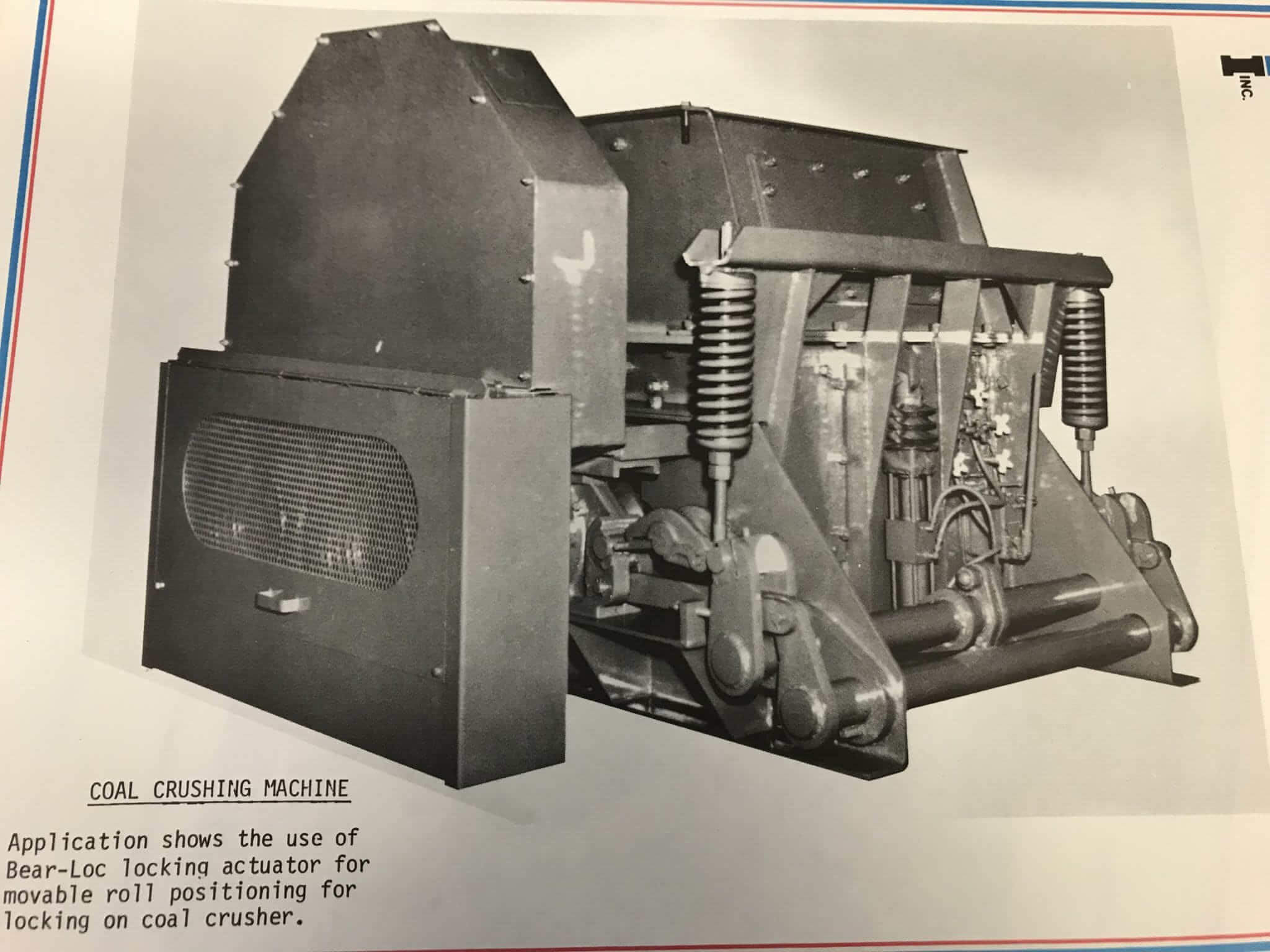 old coal crusher