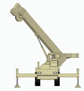 Crane Hydraulic Rod Lock