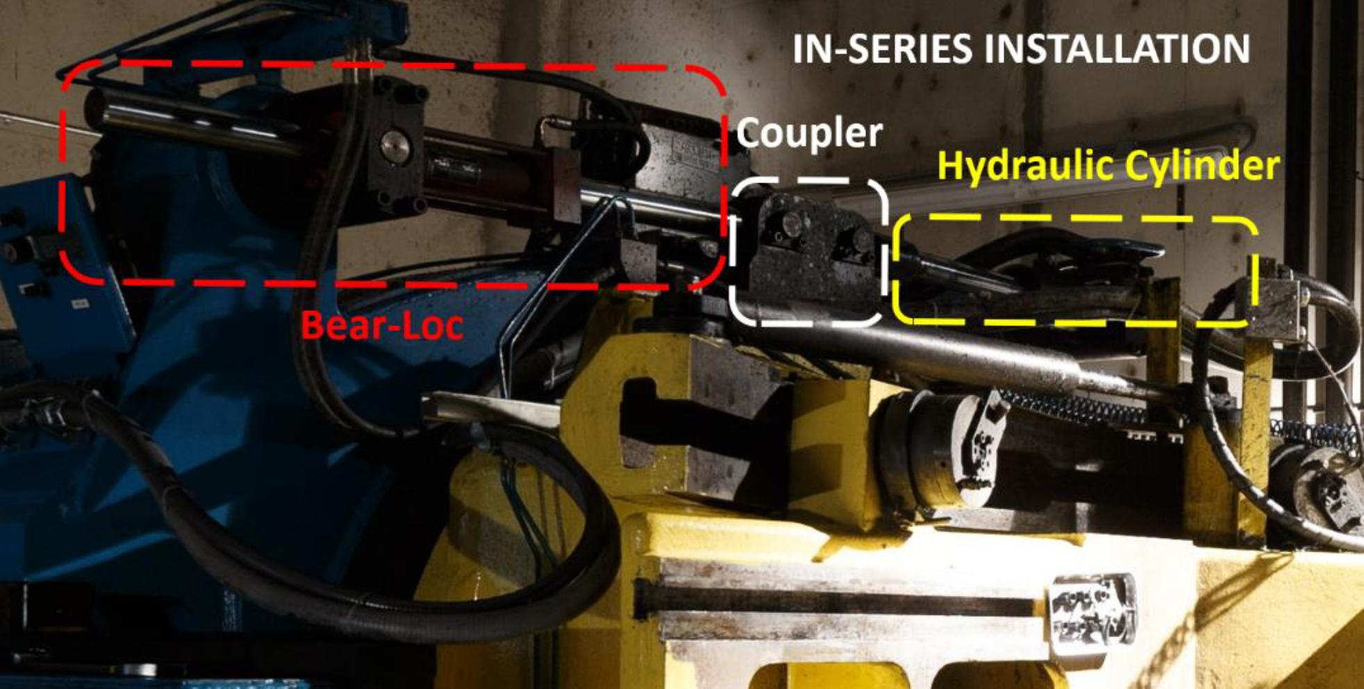 in-series rod lock installation