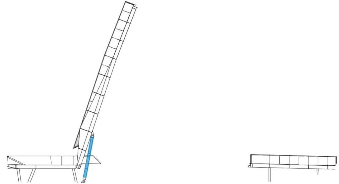 Draw bridge hydraulics