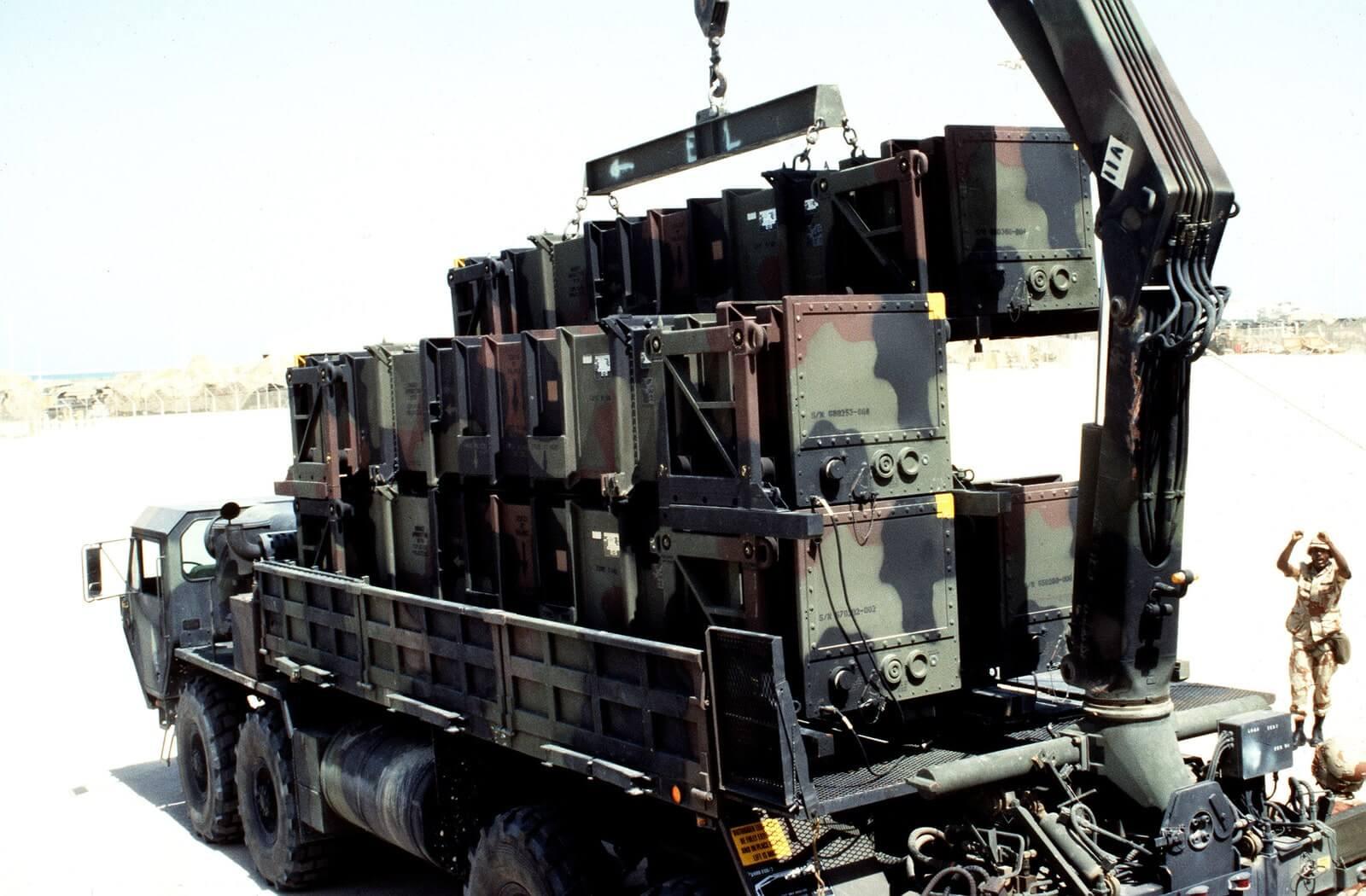 army crane